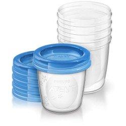 Maisto laikymo konteineriai 180 ml. 5 vnt.