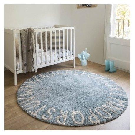 """Melsvas Vaikiškas kilimas """"ABC"""""""