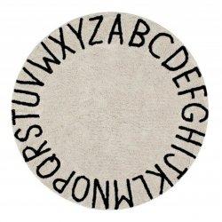 """Smėlio spalvos vaikiškas kilimas - """"ABC"""""""