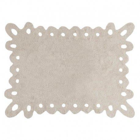 """Smėlio spalvos vaikiškas kilimas """"Lace"""""""