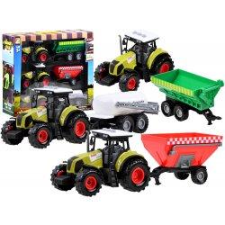 """Traktorių su priekbomis rinkinys """"Ūkyje"""""""