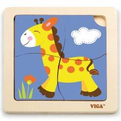 """Medinė dėlionė """"Žirafa"""""""