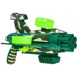 Žalias žaislinis šautuvas