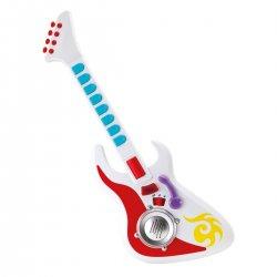 Vaikiška balta gitara