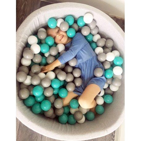Kamuoliukų baseinas 90 cm, 300 vnt kamuoliukų
