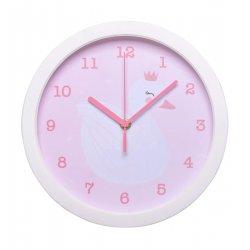 Laikrodis su gulbe