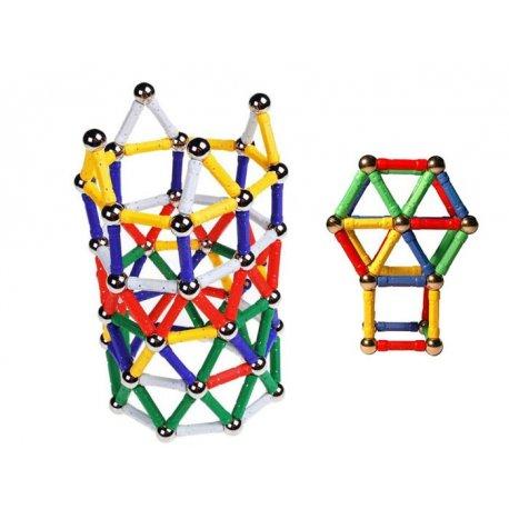 """Magnetiniai konstruktoriai - """"Magnastix"""" 60 vnt."""