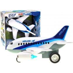 Didelis vaikiškas lėktuvas su garsais