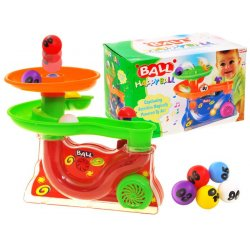 Vaikiškas kamuoliukų fontanas