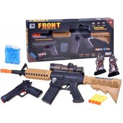 """Du šautuvai viename rinkinyje """"Snaiperis ir pistoletas"""""""