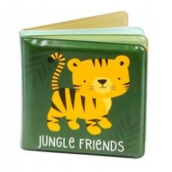 """Knygutė voniai """"Džiunglių draugai"""""""