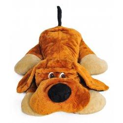 Rudas didelis pliušinis šuo / 110 cm