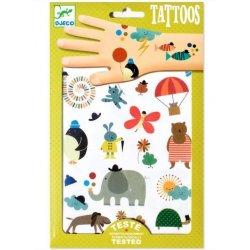 """Djeco Laikinos tatuiruotės """"Maži mieli paveiksliukai"""""""