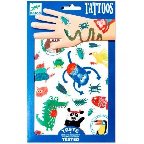 """Djeco Laikinosios tatuiruotės """"Knysliukas"""""""
