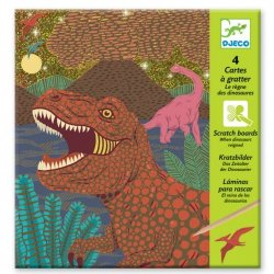 """Djeco kūrybinis braižymo rinkinys """"Dinozaurai"""""""
