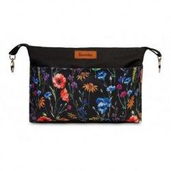 Sensillo krepšys vežimėliui ''Gėlės''