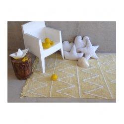 """Vaikiškas skalbiamas kilimas """"Hippy Yellow"""""""
