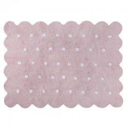 """Vaikiškas skalbiamas kilimas """"Rožinis sausainiukas"""""""