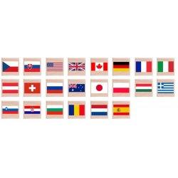 """Atminties žaidimas """"Pasaulio vėliavos"""""""