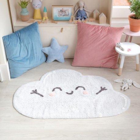 """Skalbiamas vaikiškas kilimas """"Debesėlis"""""""