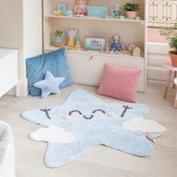 """Skalbiamas vaikiškas kilimas """"Žvaigždelė"""""""