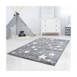 """Vaikiškas kilimas """"Pilkos žvaigždelės"""""""