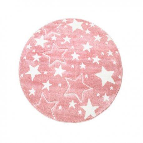 """Vaikiškas kilimas """"Rožinės žvaigždelės"""""""