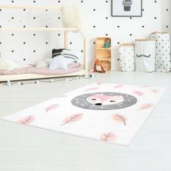 """Vaikiškas kilimas """"Rožinė lapė"""""""