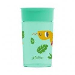 360° puodelis, žalios spalvos ''Dr Brown's'
