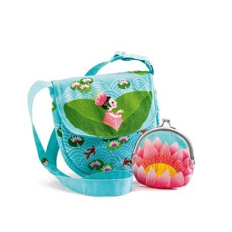 Vaikiškas krepšys ir piniginė