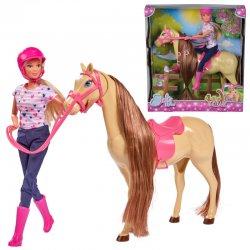 """Stefi lėlytė su arkliu ir aksesuarais """"Jodinėjimas"""""""