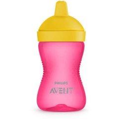 Neišsiliejanti gertuvė rožinės spalvos, 9 mėn+ ''Avent''