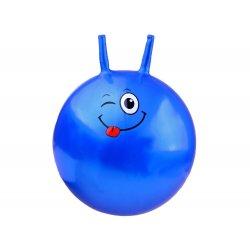 Mėlynas gimnastikos kamuolys