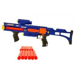 Mėlynas vaikiškas šautuvas 20 vnt.