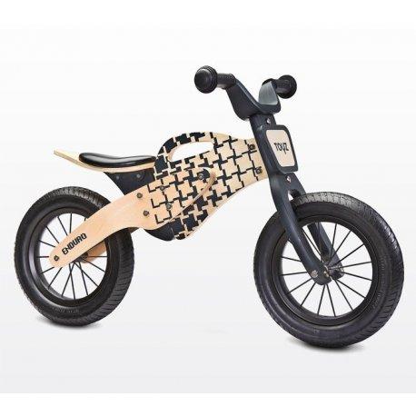 Naturalio spalvos balansinis dviratukas Enduro