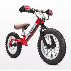 Raudonas balansinis dviratukas Rocket