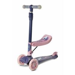 Violetinis vaikiškas paspirtukas - Tixi