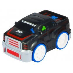 Interaktyvi juoda mašinėlė - džipas