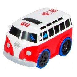 Interaktyvus vaikiškas autobusas su garsais