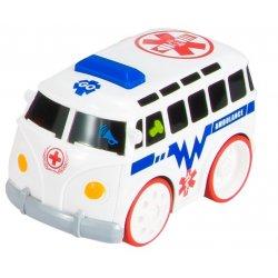 Interaktyvus greitosios pagalbos automobilis vaikams
