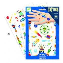 """Djeco laikinos tatuiruotės vaikams """"Kosmosas"""""""