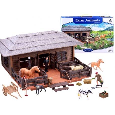 Vaikiškas fermo rinkinys - kaimo gyvūnai