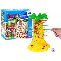 Vaikiškas akrobatinis beždžionėlių žaidimas