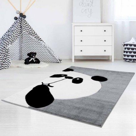 """Pilkas kilimas """"Didelė panda"""""""