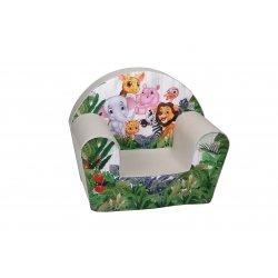 """Vaikiškas fotelis - """"Afrikos džiunglės"""""""