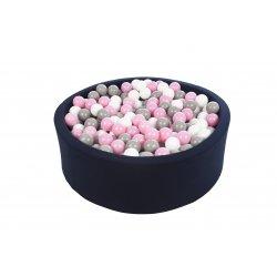 Mėlynas kamuoliukų baseinas 150 vnt.