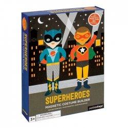 """Petit Collage magnetukų rinkinys """"Superherojai"""""""