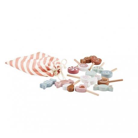 Medinių saldainių rinkinys