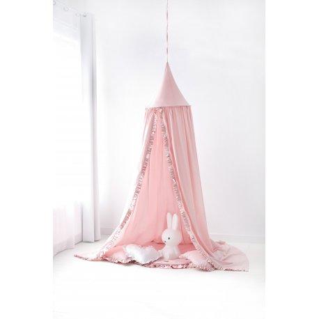 Rožinė Canopy palapinė vaikams