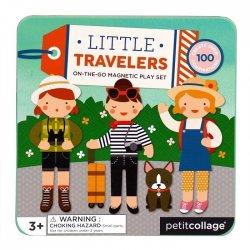 """Petit Collage magnetinis žaidimas """"Aprenk keliautojas"""""""